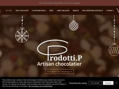 Philippe Prodotti, chocolatier, Hyères