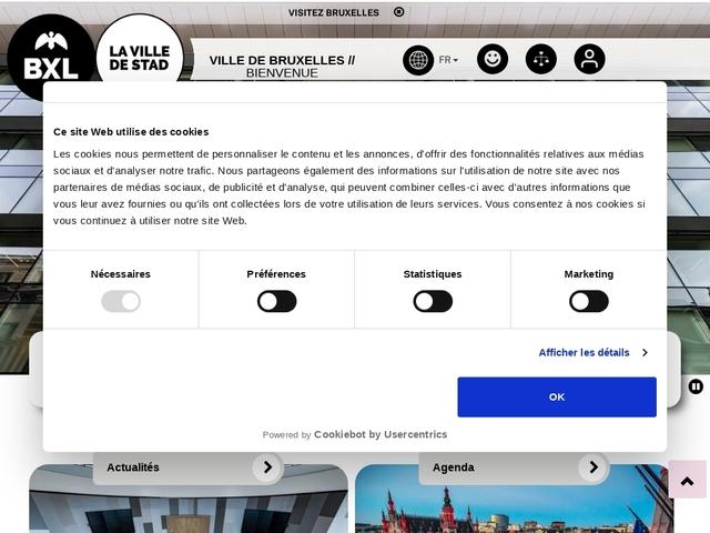 Enseignement, emploi & formation - Ville de Bruxelles