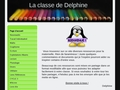 La classe de Delphine