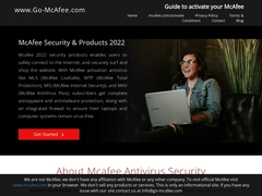 McAfee Activation - www go mcafee com activate