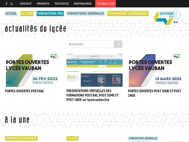 Lycée Vauban (Brest)