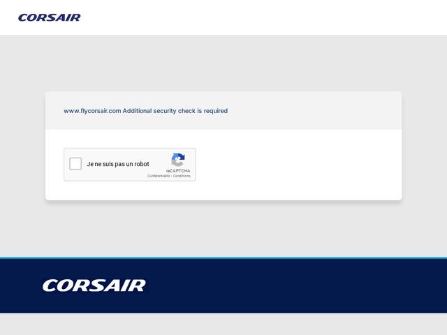 Corsair.fr - Vols et Billets d'avion pour la Martinique