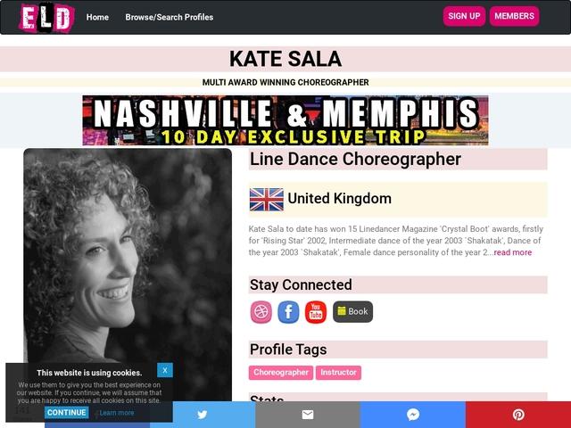 Kate Sala Home Page