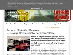 PlusNet Entretien Ménager et Nettoyage Commercial Gatineau Montréal