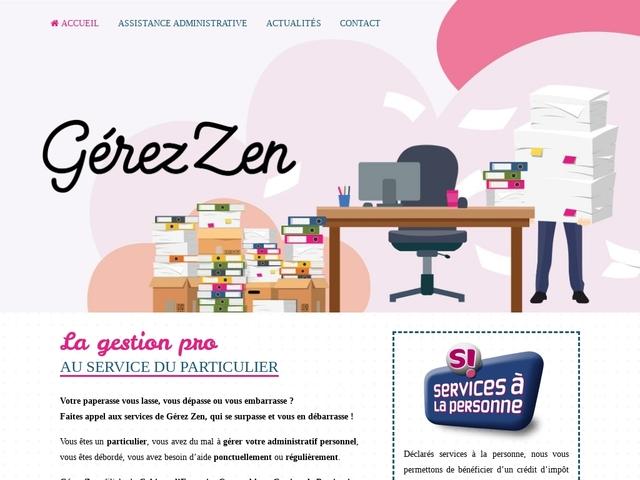 PAU - GEREZ ZEN - assistance administrative à domicile
