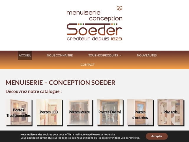 Menuiserie Conception SOEDER