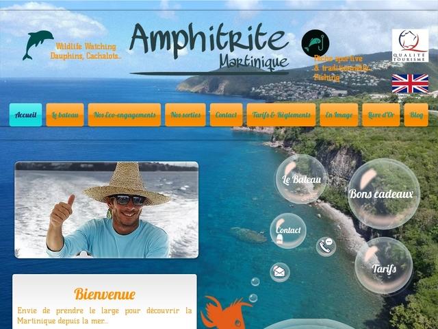 Balade en mer avec Amphitrite : dauphins et pêche