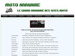 Moto Annuaire, le Grand Annuaire des Sites Moto, Annuaire du Motard