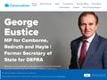 George Eustice MP (Camborne and Redruth)