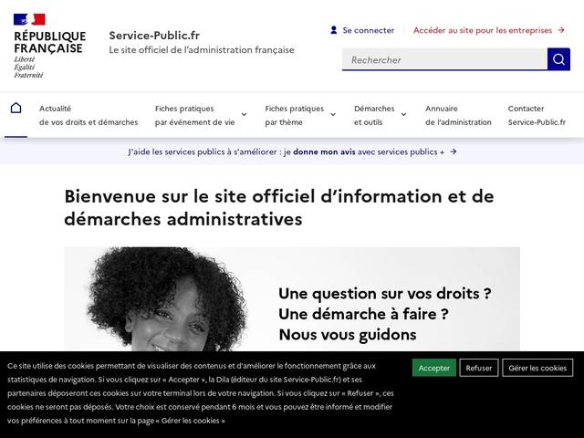 Démarches en Ligne Service Public