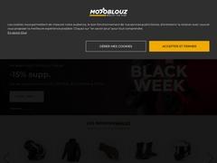 MOTOBLOUZ.COM - EQUIPEMENT MOTO ET MOTARD