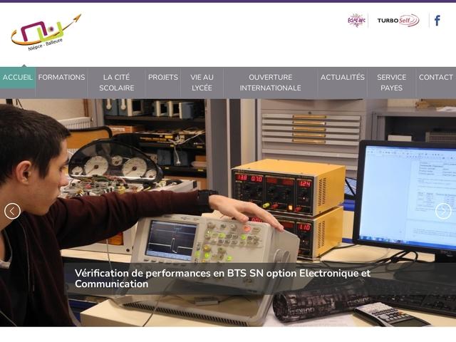 Lycée Niepce (Châlons sur Saône)