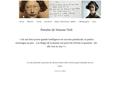 Pensées de Simone Weil