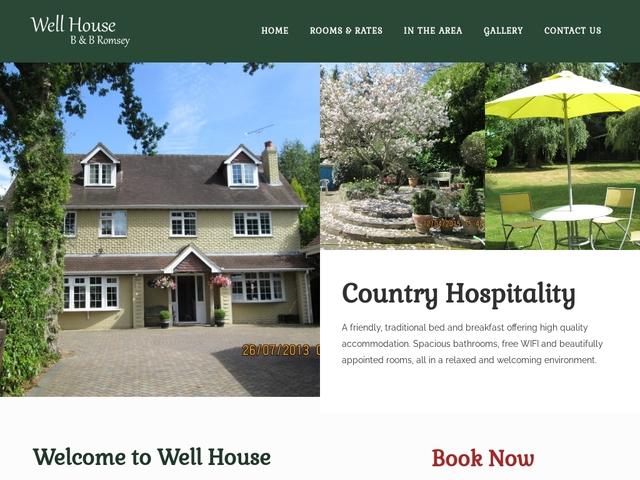Well House B&B - Wellow - Somerset - England.