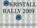 Krtstal Rallye 2009