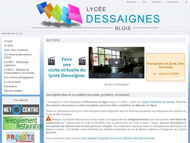 Lycée Dessaigne (Blois)