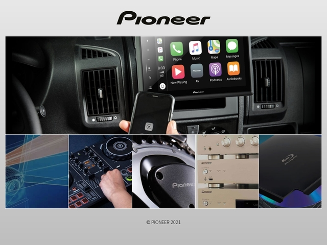 Pioneer France - Electronique embarquée, Navigation, GPS, Amplificateurs,  DVD, Blu-ray, Produits DJ