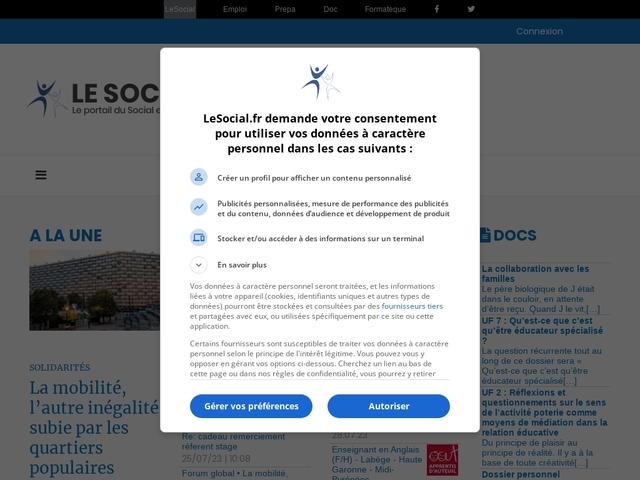 Le social- espace et forum VAE