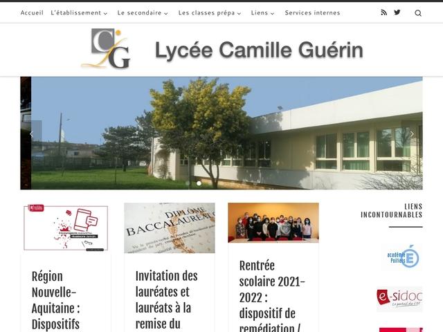 Lycée Camille Guérin (Poitiers)