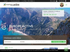 Europe Active, séjours actifs rando moto vélo auto