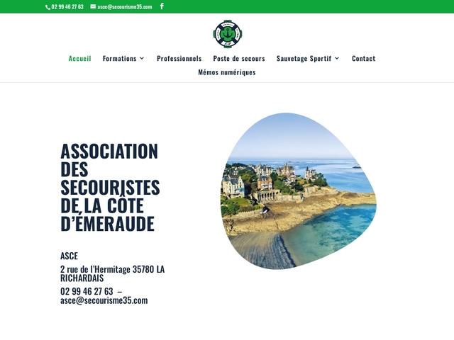 association de secourisme de la côte d'emeraude