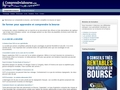 Dictionnaire boursier - définitions ayant trait à la bourse
