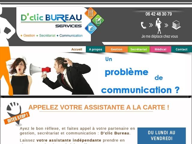 Sainte PAZANNE - D'CLIC BUREAU gestion, secrétariat, communication