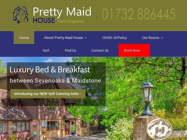 Pretty Maid House B&B - Wrotham Heath - Sevenoaks - Kent - England.