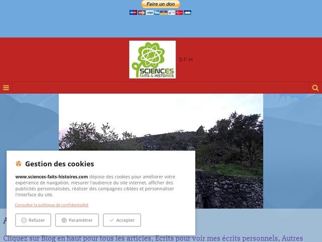 Sciences, Fictions, Histoires
