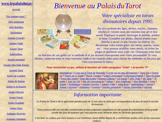 Le Palais du Tarot