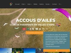site club de parapente Accous d'ailes