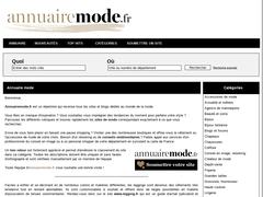 annuairemode.fr