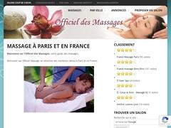 Officiel des massages