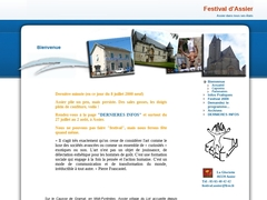 Bienvenue, Festival d'Assier