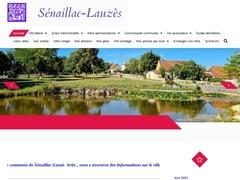 Info sur la commune de senaillac-Lauzes