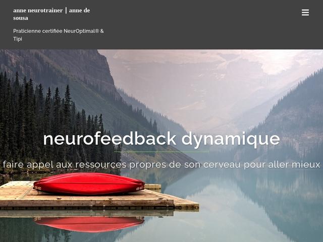 Anne de sousa - Praticienne de neurofeedback dynamique