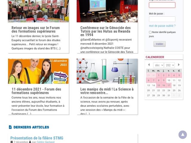 Lycée Saint Exupéry (Mantes la Jolie)