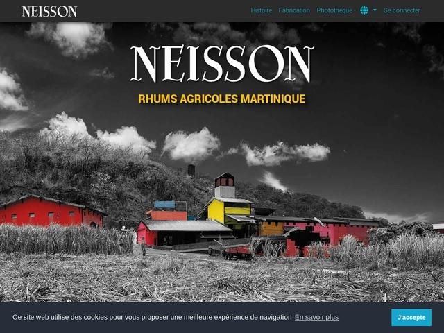 Rhum Neisson Distillerie Carbet Martinique