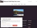 "Restaurants "" TAHITI PLAGE chez LOULOU"""