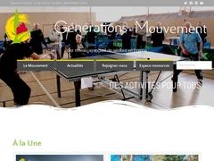 GENERATIONS MOUVEMENT - Fédération Nationale
