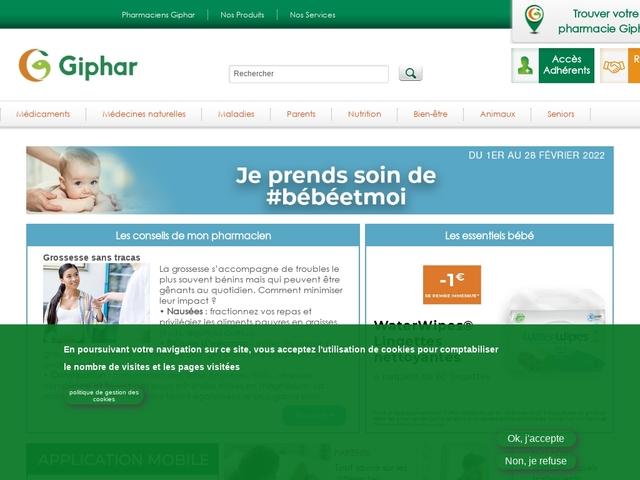 Pharmacien Giphar, les maladies infantiles