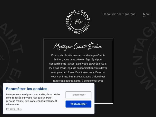 Maison du vins Montagne Saint Émilion