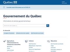 Aînés: programme et services: Espace citoyens