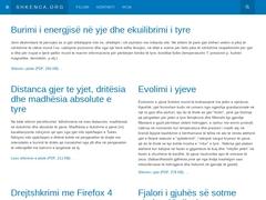 Shkenca.org - Ballina