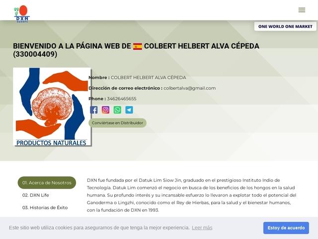 Distribuidor Independiente de DXN