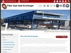 plate type heat exchanger, plate type heat exchangers