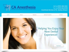 CA Anesthesia: Sedation and Dental Anesthesia for Southern California