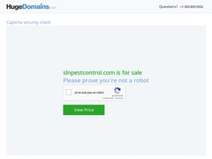 Pest Control in Bangalore