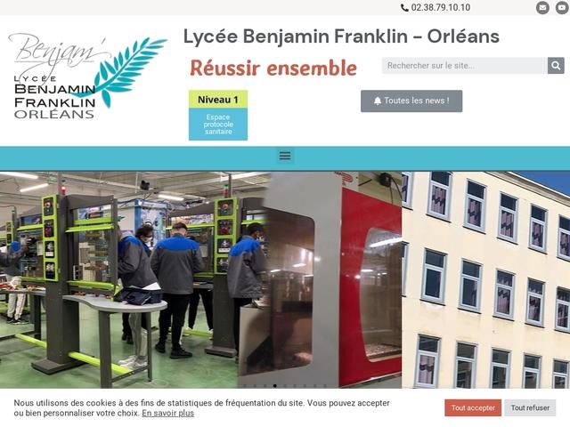 Lycée Benjamin Franklin (Orléans)