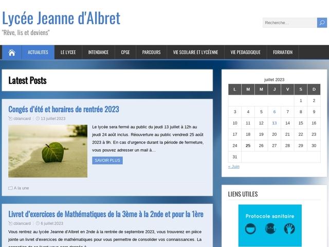 Lycée Jeanne d'Albret (Saint Germain en Laye)